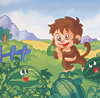 小猴和大熊的故事